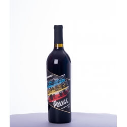 Vin rouge Etats-Unis - Wines that rock - The Police