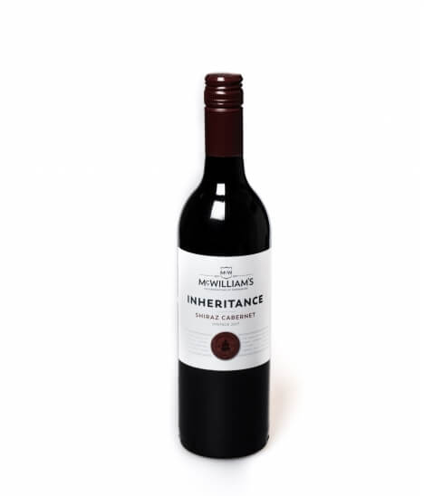 Vin rouge Australien - McWilliam's Inheritance red - Shiraz Cabernet