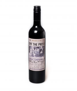 Vin rouge Australie - Mc William's Off The Press - Shiraz Tempranillo