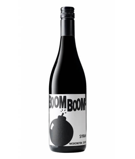 Vin rouge Américain - Washington state - Columbia Valley - Charles Smith Boom boom Syrah